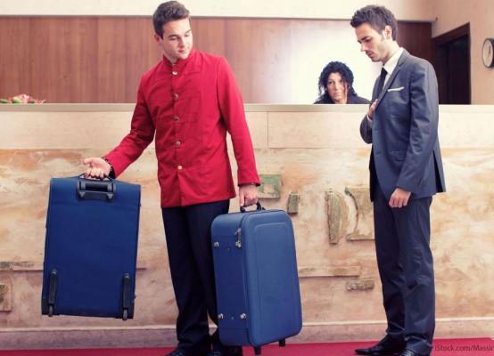 Поднос багажа